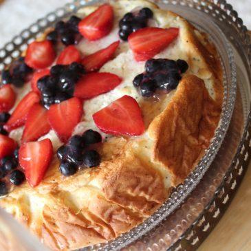 Mascarpone-kakku: Bon week-end!