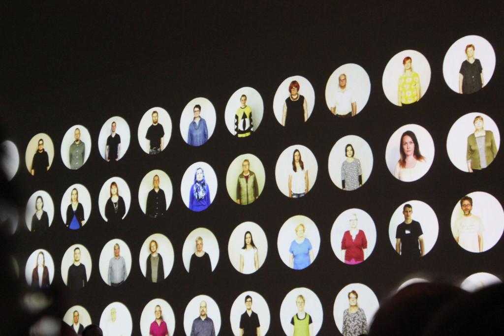 Oliver Kochta-Kalleinen ja Tellervo Kalleinen Taidehallissa L I L O U ' s #lilous helsinkiläinen lifestyleblogi blogeuse finlandaise Kaisa Pohjanvirta #mode #Helsinki @KPohjanvirta
