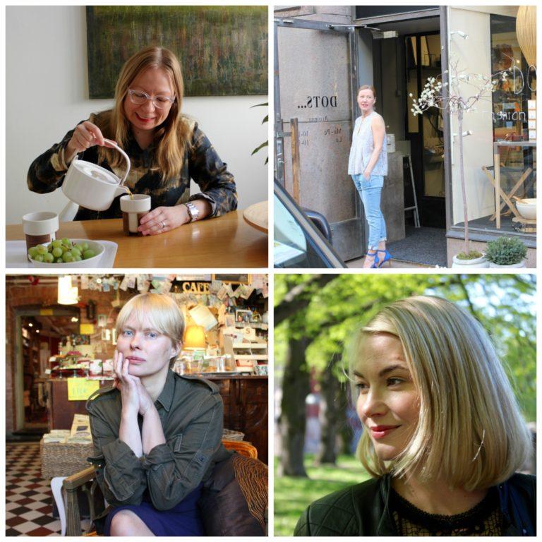 Bloggauksesta II #FinnishDesign L I L O U ' s #lilous helsinkiläinen lifestyleblogi Kaisa Pohjanvirta blogeuse finlandaise @KPohjanvirta #miun #ilonahyötyläinen #aalto #DOTS.. #sannasaastamoinen-barrois #rosanenonen #positiivinen psykologia