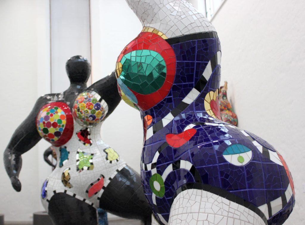 Niki de Saint Phalle Taidehallissa 20.11. asti L I L O U ' s #lilous lifestyleblogi #Helsinki Kaisa Pohjanvirta @taidehalli #art