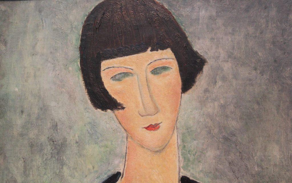 Modiglianin sielukkaat muotokuvat Ateneumissa 5.2.2017 asti L I L O U ' s #lilous lifestyle #ateneum #modigliani #art #modern #paris