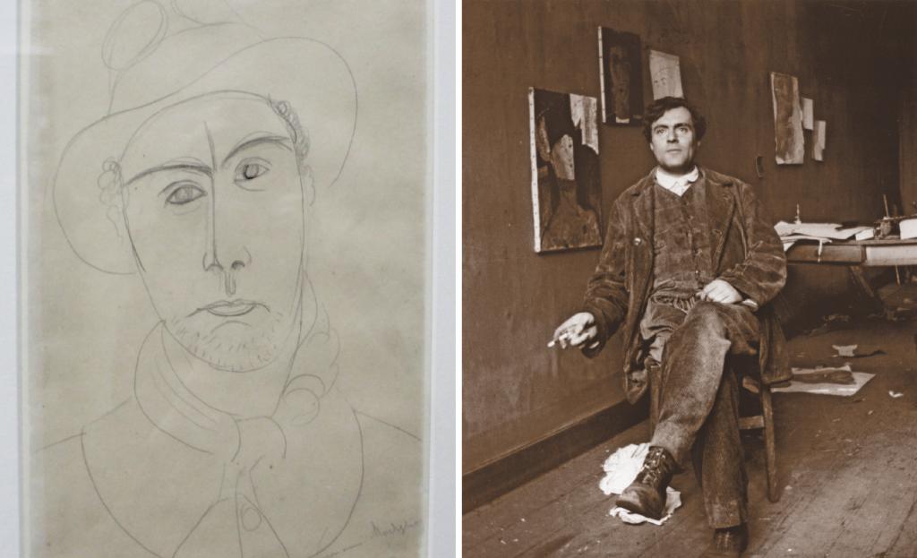 Modiglianin sielukkaat muotokuvat Ateneumissa 5.2.2017 asti L I L O U ' s #lilous lifestyle Kaisa Pohjanvirta #ateneum #modigliani #art #modern #paris