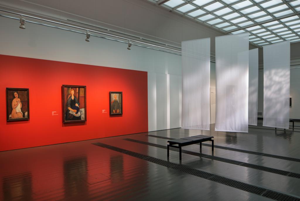 Modiglianin kaartuvakaulaiset muotokuvat Ateneumissa 5.2.2017 asti L I L O U ' s #lilous lifestyle Kaisa Pohjanvirta #ateneum #modigliani #art #modern #paris Kaisa Pohjanvirta