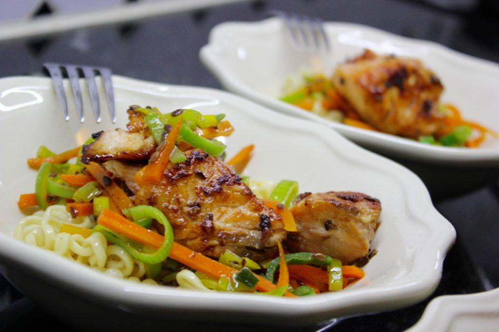 Teriyakilohi L I L O U ' s #lilous lifestyleblogi Kaisa Pohjanvirta helppoa arkiruokaa #lohi #saumon #ruoka #food #cuisine