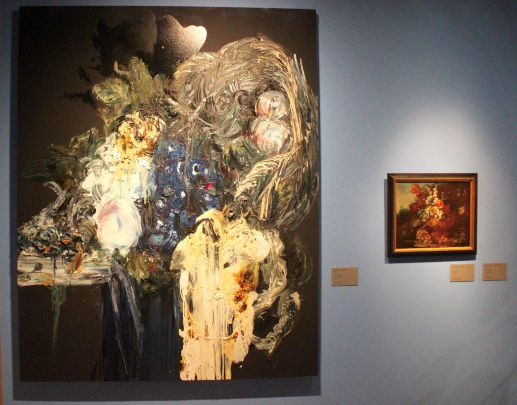 Elämä tarjottimella Sinebrychoffin taidemuseossa L I L O U ' s #lilous lifestyleblogi Kaisa Pohjanvirta #art @sinebrychoffart #kansallisgalleria #bulevardi #taide #visithelsinki #menemuseoon #Museokortti