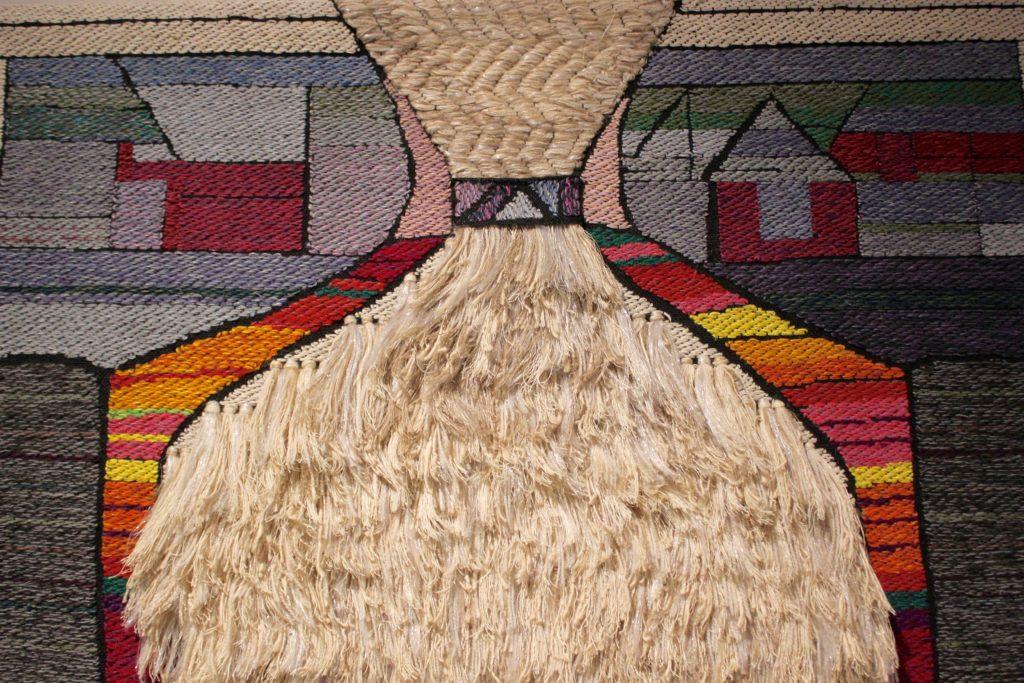 Kirsti Rantanen Designmuseossa 5.3. asti L I L O U ' s #lilous lifestyleblogi Kaisa Pohjanvirta #KirstiRantanen @DesignmuseoFI #art #tekstiilitaide #lilous