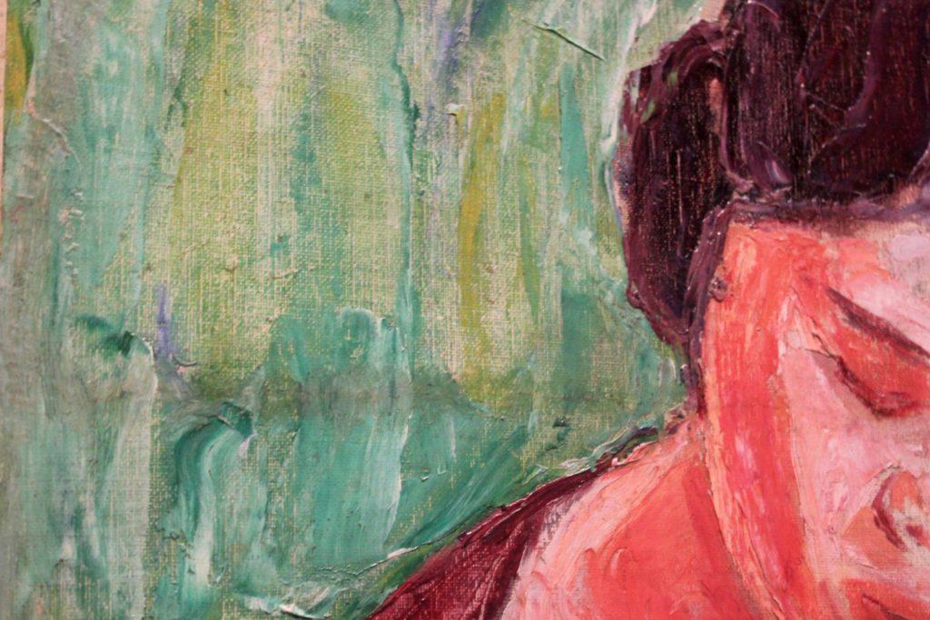 Tyko Sallinen 27.8. asti HAM:ssa L I L O U ' s #lilous lifestyleblogi Kaisa Pohjanvirta #HAMHelsinki Tennispalatsi Helmi Vartiainen modernismi ekspressionismi #lilous Marraskuun ryhmä #taide #art Tuula Karjalainen