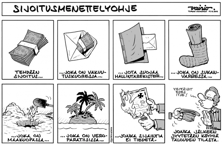 """Karikatyyripiirtäjä Jyrki Vainio: """"Idea täytyy kirjoittaa, ennen kuin sen voi piirtää."""" L I L O U ' s #lilous lifestyleblog, @KPohjanvirta sarjakuva karikatyyri bandedessinée Turun Sanomat Ilta-Sanomat @JyrkiVainio Ilta-Sanomat Turun Sanomat"""