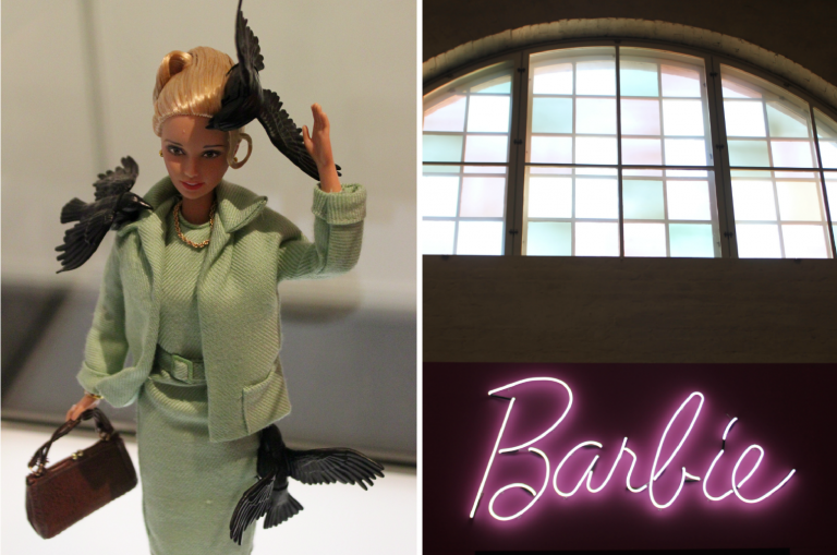 "Barbie Kansallismuseossa: ""You can be anything"" L I L O U ' s #lilous lifestyle @KPohjanvirta #barbie @Kansallismuseo feminism"
