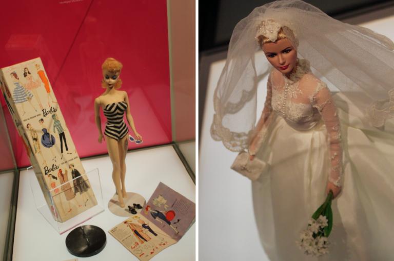 "Barbie Kansallismuseossa: ""You can be anything"" L I L O U ' s #lilous lifestyle @KPohjanvirta #barbie @Kansallismuseo feminism Helsinki #visitHelsinki #museums"