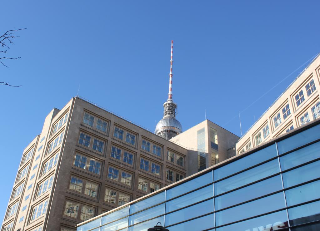 radiotorni Berliini Alexanderplatz